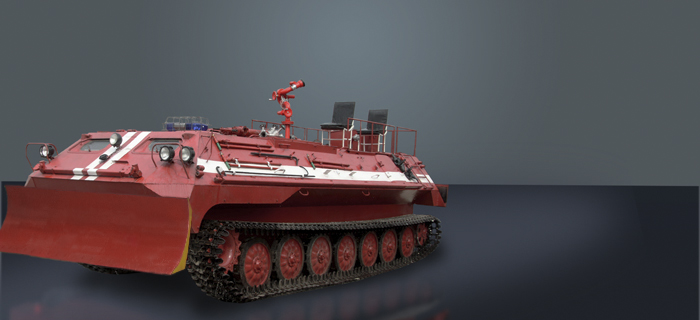 Basic MT-LBu-GPM-10 Chassis-Based Fire Fighting Vehicle