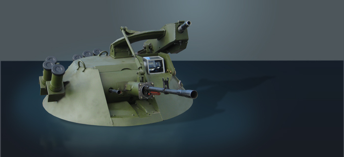 Turret Mount MA8
